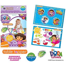 Dora the Explorer Table Toppers (Pack of 18)