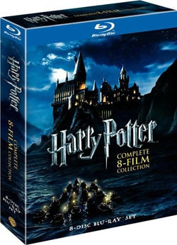 Harry Potter: The Complete Collection Years 1-7 (Blu-ray Disc) 8420599