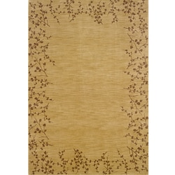 Ellington Beige/Brown Transitional Area Rug (6'7 x 9'6)