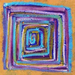 Ankan 'Circulation 2' Gallery-wrapped Canvas Art 8422582
