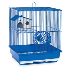 Prevue Pet Products Two Story Blue Hamster/Gerbil Cage SP2010B