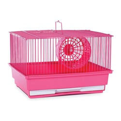 Prevue Pet Products Single Story Pink Hamster/Gerbil Cage