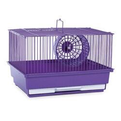 Prevue Pet Products Single Story Purple Hamster/Gerbil Cage SP2000PR