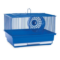 Prevue Pet Products Single Story Blue Hamster/Gerbil Cage SP2000B