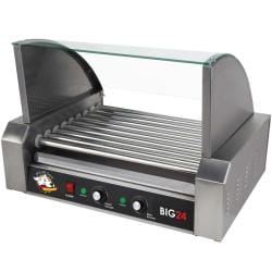 RollerDog Big 24 Stainless Steel Hotdog Roller with Drip Tray 8450275