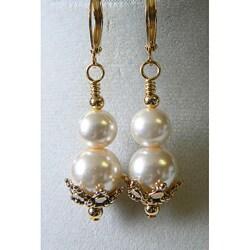 """Roselind"" Glass Pearl Earrings 8459779"