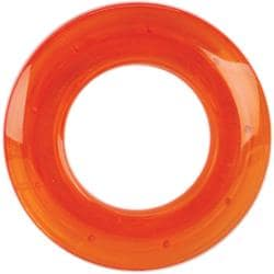 Orange 25-mm Transparent Grommets (Pack of 8)