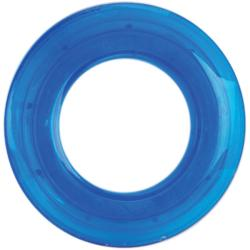 Blue 25-mm Transparent Grommets (Pack of 8)