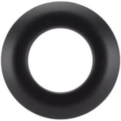 25mm Black Grommets (Pack of 8)