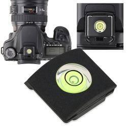 INSTEN Camera Flashlight Hot Shoe Spirit Level Cover