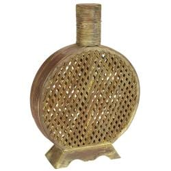 Open Weave Decorative Vase