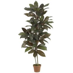 Cordyline 5-foot Silk Plant (Real Touch)