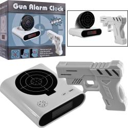 Gun and Target Recordable Alarm Clock (Set of 2)
