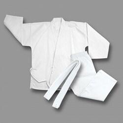 White Light Weight Karate Uniform size 0