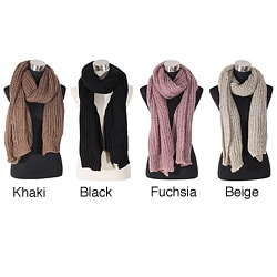 LA77 Knitted Scarf