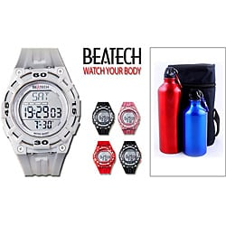 Beatech Multi-function Watch with Aluminum Camping Bottle Set