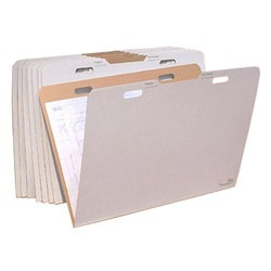 VFolder 24in x36in Flat Items Storage Box (Pack of 8)
