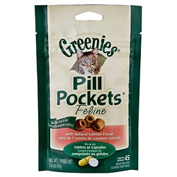 Greenies Salmon Pill Pockets for Cats