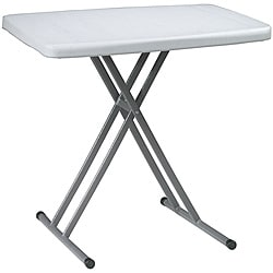 Office Star Resin Adjustable-Height Personal Training Table