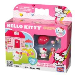 Mega Bloks Hello Kitty Candy Store Play Set 8491013