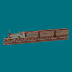 Bachmann HO Scale Thomas and Friends Emily Passenger Train Set