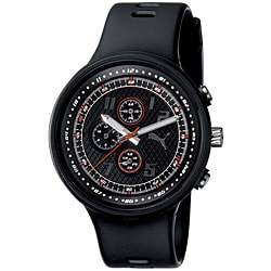 PUMA PU910401001 Gents 'Slick' Black Chronograph Watch