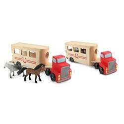 Melissa & Doug Horse Carrier Toy 8491151