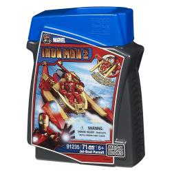 Mega Bloks Marvel Iron Man Jet Boat Pursuit 8499527