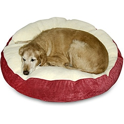 Scooter Deluxe Small Round Dog Bed