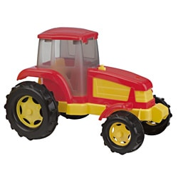 American Plastic Toys 14-inch Tractor Toy (Pack of 6)
