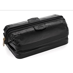 Buxton Leather Original Toiletry Bag