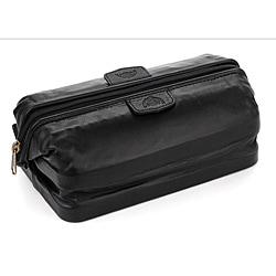 Buxton Leather Original Toiletry Bag