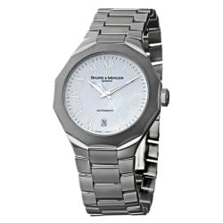 Baume & Mercier Men's 'Riviera' Stainless Steel Automatic Watch