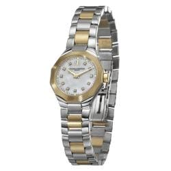Baume & Mercier Women's 'Riviera' Steel and Gold Quartz Watch