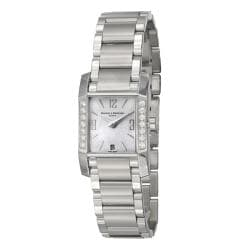 Baume & Mercier Women's 'Diamant' Stainless Steel Quartz Watch