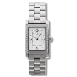 Baume & Mercier Women's 'Hampton' Stainless Steel Quartz Watch