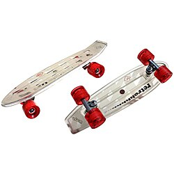 Atom Clear 21-inch Mini Retroh Molded Skateboard