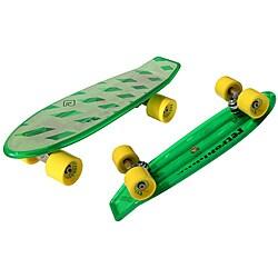 Atom Green 21-inch Mini Retroh Molded Skateboard