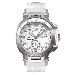 Tissot T-Race Ladies White Quartz Movement Luxury Sport Watch