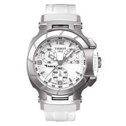 Tissot T-Race Ladies White Quartz Movement Luxury Sport Watch