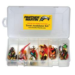 Panther Martin 36-piece Trout Kit