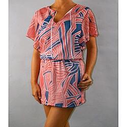 Institute Liberal Women's Mini Cap Sleeve Dress