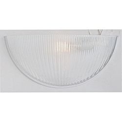 One-light White Wall Sconce