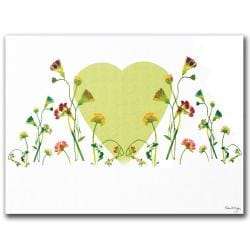 Kathie McCurdy 'The Heart is Glorious Machine' Canvas Art 8524420