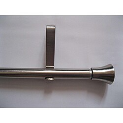 Modern Extendable Metal Curtain Rod (28- 48)