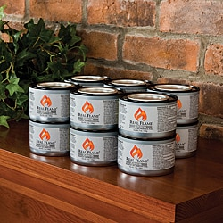 Real Flame Junior Gel Fuel 7-oz Cans (Pack of 12)
