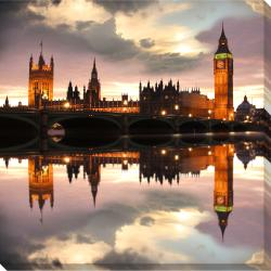 Big Ben Oversized Gallery Wrapped Canvas