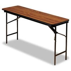Beautiful Iceberg Premium Rectangular 72 Inch Steel Folding Table