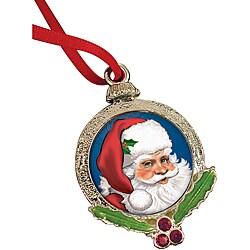 American Coin Treasures Santa Claus Coin Ornament
