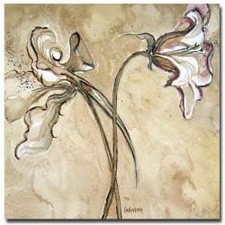 Wendra 'Flower Talks' Canvas Art